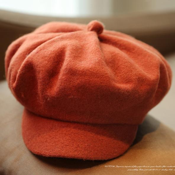 Winter Boinas Woolen Newsboy Beret Hats For Women Leisure Visor Caps Flat Hats Free Shipping SDDW-001