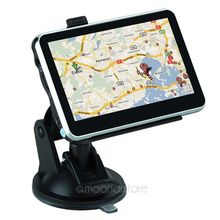 New 4.3 inch LCD GPS Truck Navigation MTK 4GB Capacity UK EU AU NZ Maps Speedcam POI Vehicle GPS For Outdoor Travel FYDA1108