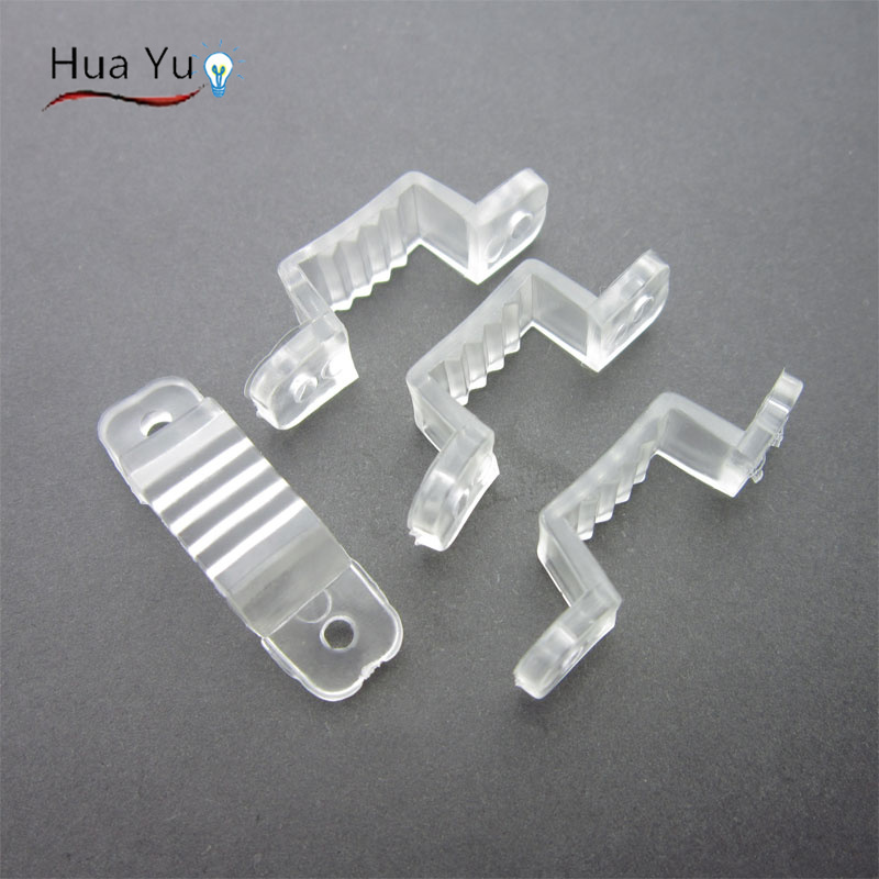 50pcs LED Strip Connector Silicon clip For 8mm 10mm Width SMD3528 SMD5050 Light Strip Flexible Light Strips fixing holder<br><br>Aliexpress