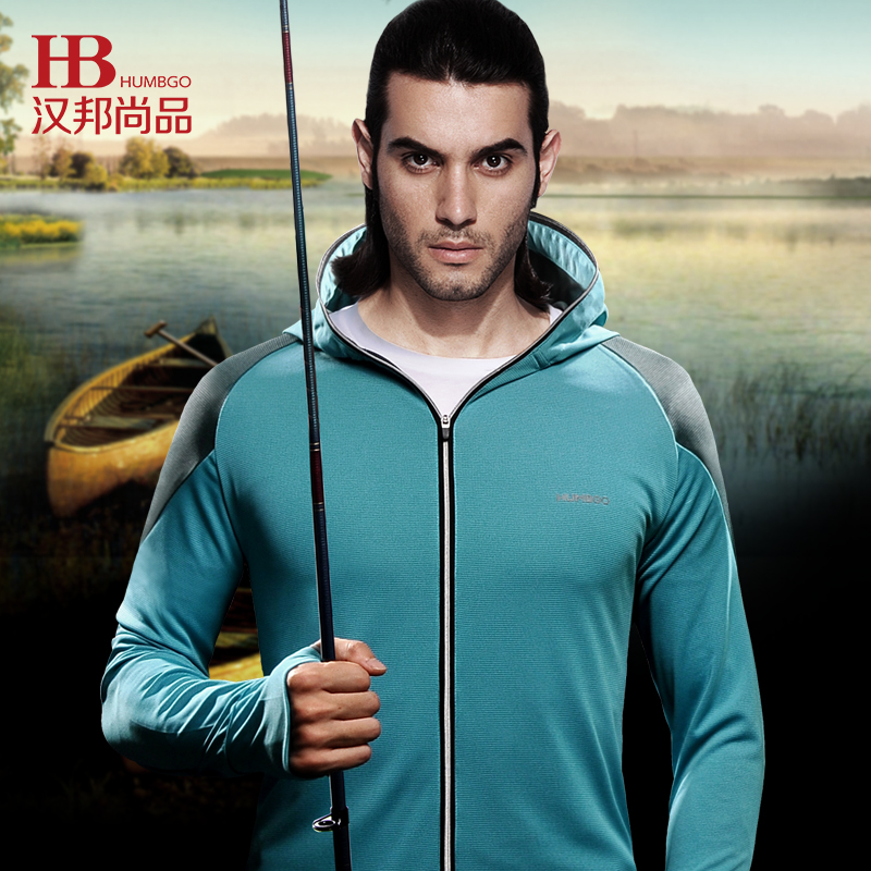 HUMBGO Quick-drying camping fishing clothes sun protection clothing Men foue seasons sun protection clothing<br><br>Aliexpress