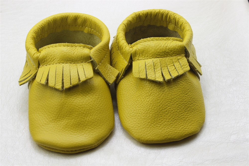 2pcs/lot Baby Moccasins Soft Moccs Baby Shoes Newborn Baby firstwalker Anti-slip Genuine Cow Leather Infant Shoes Footwear(China (Mainland))