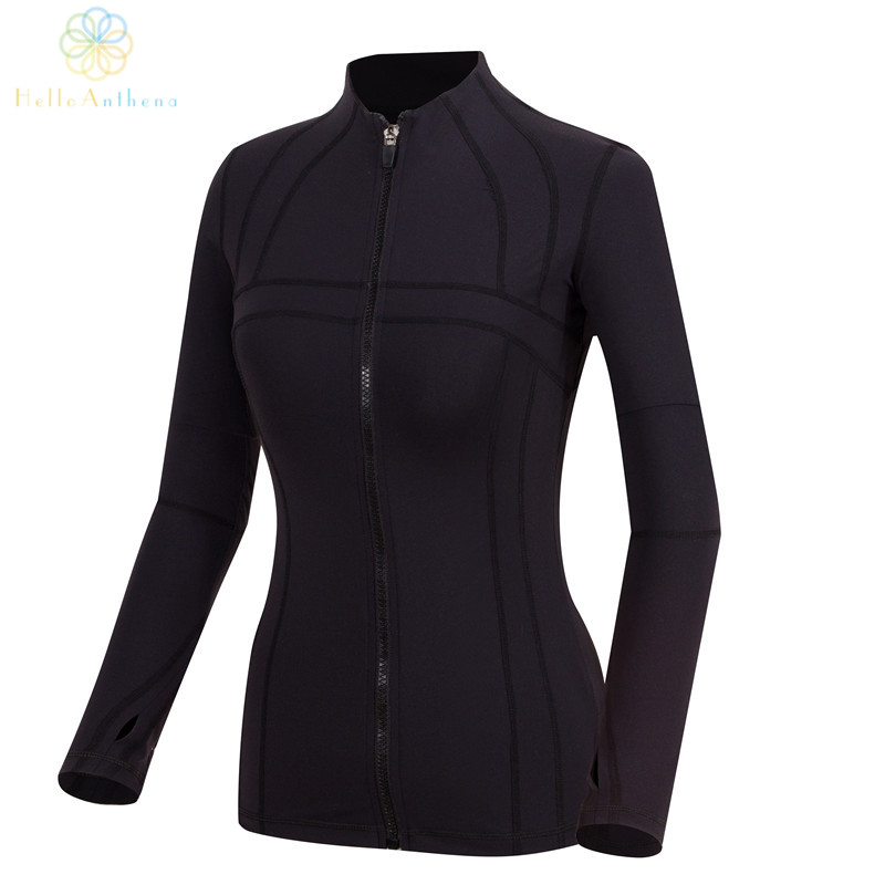 Compare Prices on Fitness Women Sport Gym Jackets- Online Shopping