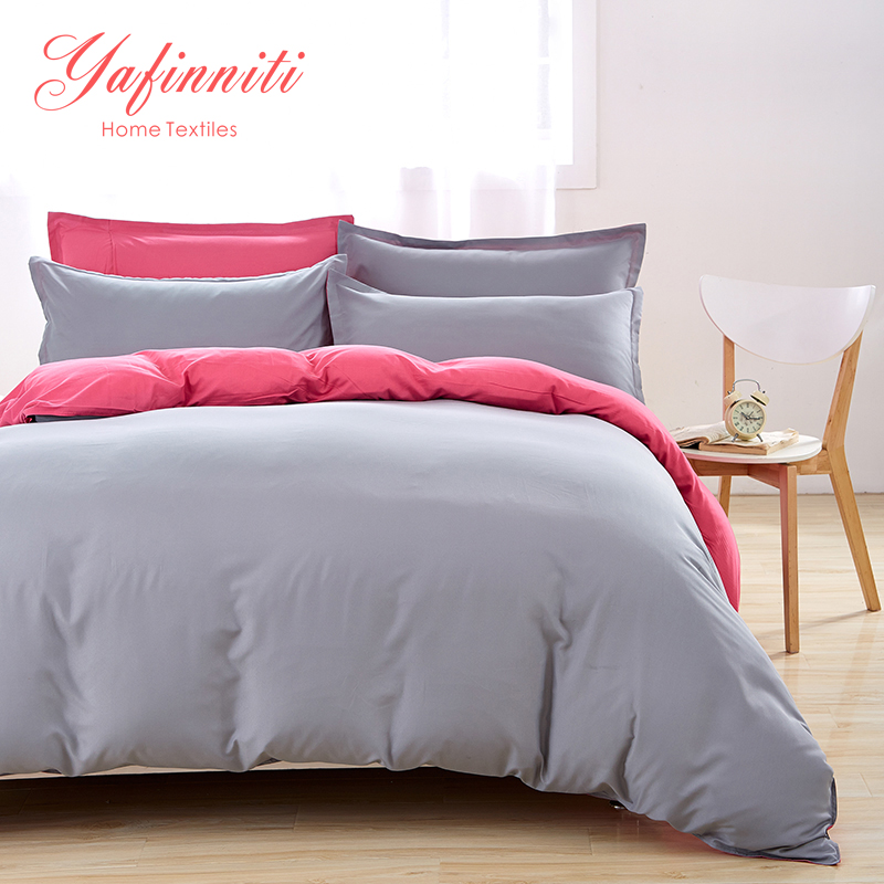 Yafinniti (23 color ) polyester Cotton Bedding Set Queen Duvet Cover Sets Bed Sheets Adults Kids Bedroom Bedding(China (Mainland))