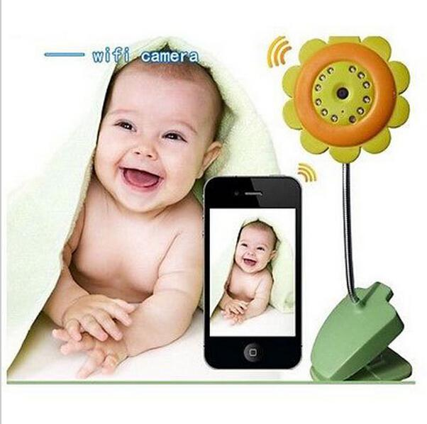 wifi webcam baby monitors wireless monitor mobile remote video babyfoon babyp. Black Bedroom Furniture Sets. Home Design Ideas