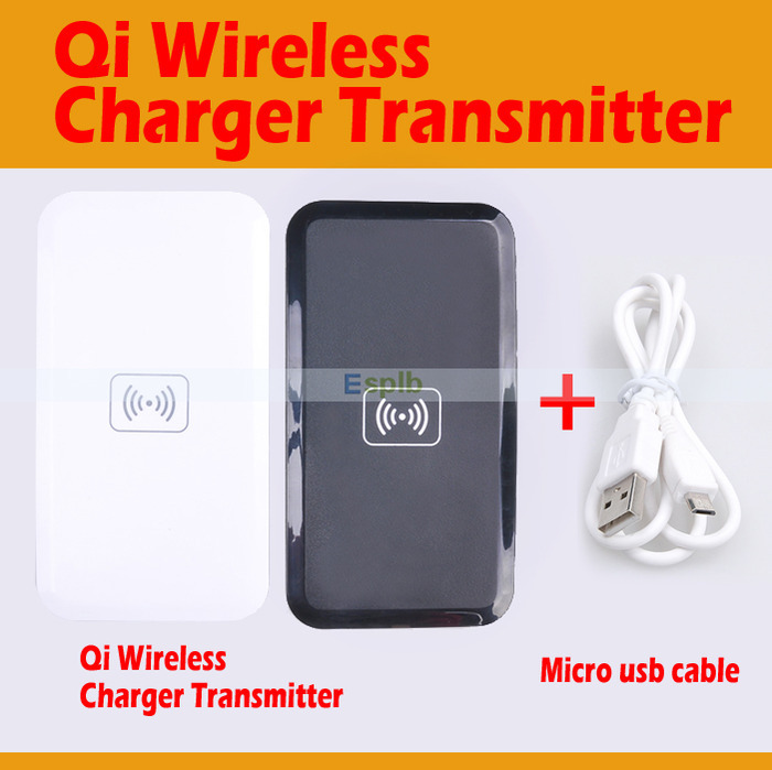 Qi Wireless Charger Transmitter Pad Qi-Enabled Mobile Qi Pad for Samsung Galaxy S6/S6 Edge/Lumia 930 830 735/Nexus 4/5/7(II)(China (Mainland))