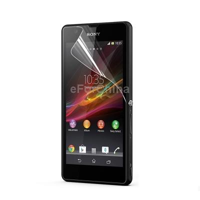 Защитная пленка для мобильных телефонов HD Sony Xperia ZR /m36h защитная пленка для мобильных телефонов hd sony xperia zr m36h