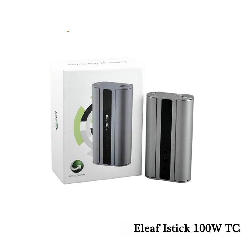 ถูก ควบคุมอุณหภูมิEleaf istick TC 100วัตต์บุหรี่อิเล็กทรอนิกส์ขายส่งistick TC 100วัตต์จัดส่งฟรีijust 2 eleaf istick picoชุด75วัตต์