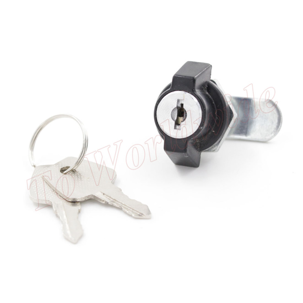 Door cabinet locks security cam lock ms816 16 with keys in for Cam lock kitchen cabinets