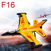 HOT 4 channels Shatter Resistant RC Airplanes for Almost Ready General Dynamics F-16 Fighting model Remote control plane