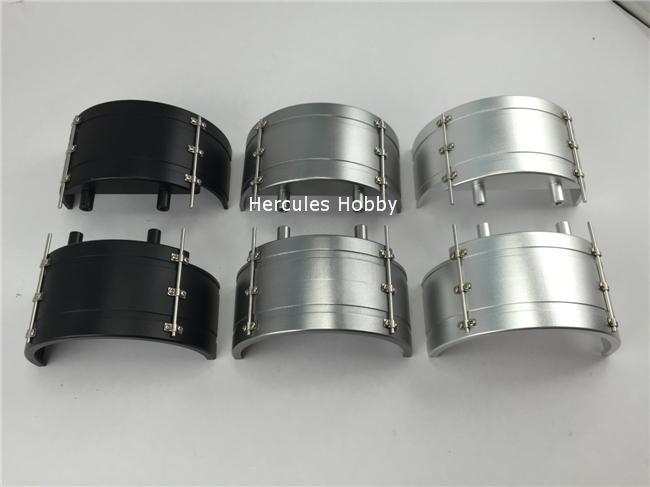 TAMIYA Truck 1/14 Semi-Trailer Metal Wheel Mudguard Aluminum Upgraded Parts(China (Mainland))