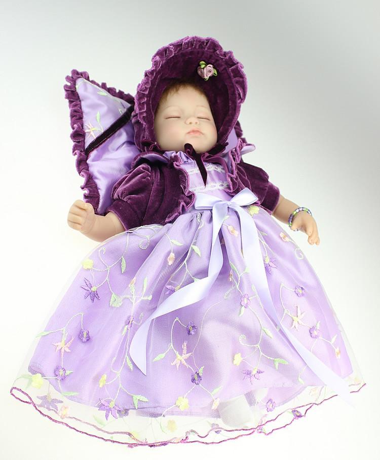 NPK 18 inch Silicone Reborn Babies Dolls baby reborn Realistic Hobbies Handmade Baby Alive Doll For Girls Toys boneca reborn