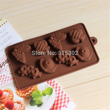 1 pcs Butterfly, Worm Shape 3D silicone Cake Mold, Fondant Cake Mould, Jello, Soap, Sugar, Candy, Birthday Cake Mould(China (Mainland))