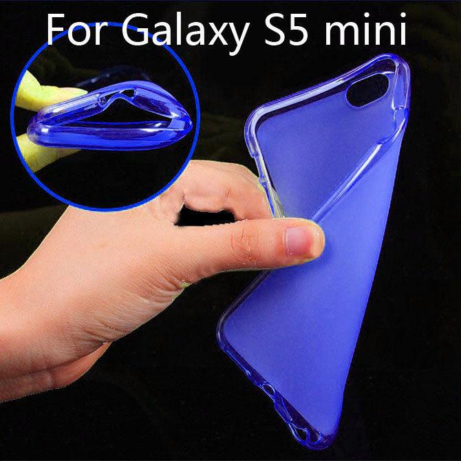 Matte TPU Cover Slim Soft Gel cell phone Case for Samsung Galaxy S5 mini G800 duos G800 M/Y/H/A/R4/DS/F STA(China (Mainland))