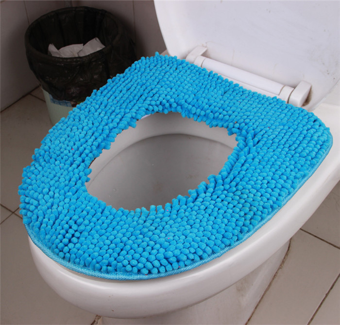 Turquoise Toilet Seat Cover. 2 jpg 4  HD0157 Personalized Creative Toilet Seat 100 Cotton Chenille