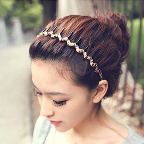 Wavy Hair Accessories Head Hoop Band Sport Headband Hairband Hairpins Styling Tools Hair Accessory Wholesale Hot Sale(China (Mainland))