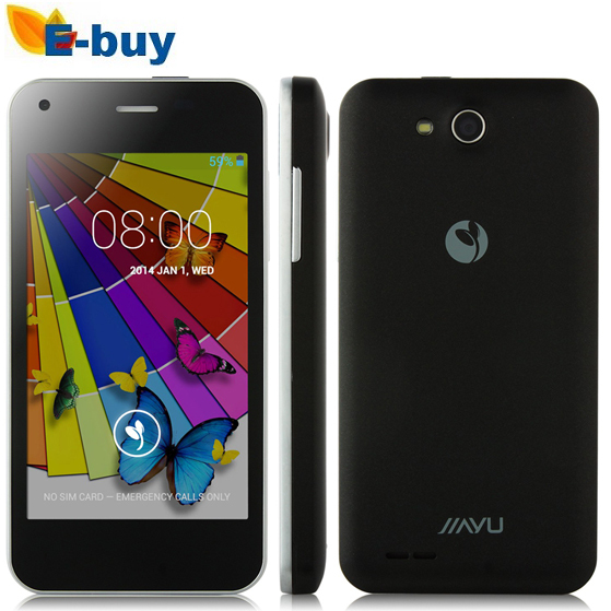 In Stock Original JIAYU F1 MTK6572 Dual Core WCDMA 3G Smart Phone 5MP Camera 512MB RAM 4G ROM Metal Frame Android 4.2 GPS Wifi(China (Mainland))