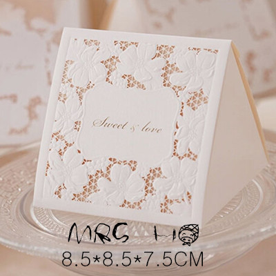 New Arrival Time-limited Accept Caixa Gift Paper Box 8.5*8.5*7.5cm 30pcs/lot European Candy Wedding Package Packaging Boxes(China (Mainland))
