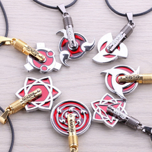 YP0799 Animation around  pendant  necklace  naruto  individuality  simple design  red alloy jewelry