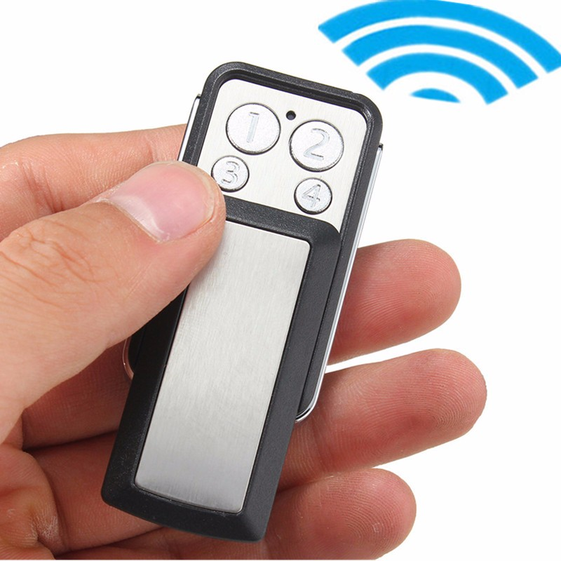 4 Button Electric Gate Garage Door Car Remote Control Key 433MHz Clone Transmitter(China (Mainland))