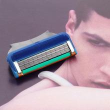 2015 Hot 8pcs/lot wholesale Men's Face shaving Razor Blade Shaver Blades,Shaving razor Blades For Men Sharpener RU/EU/US Razors(China (Mainland))