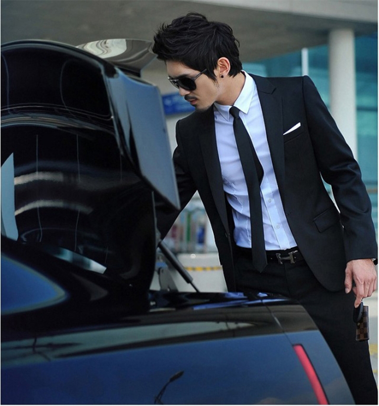 31-Free Shipping New 2015 man suit classic Fashion grooms man suits! Men's Blazer Business Slim Clothing Suit And Pants