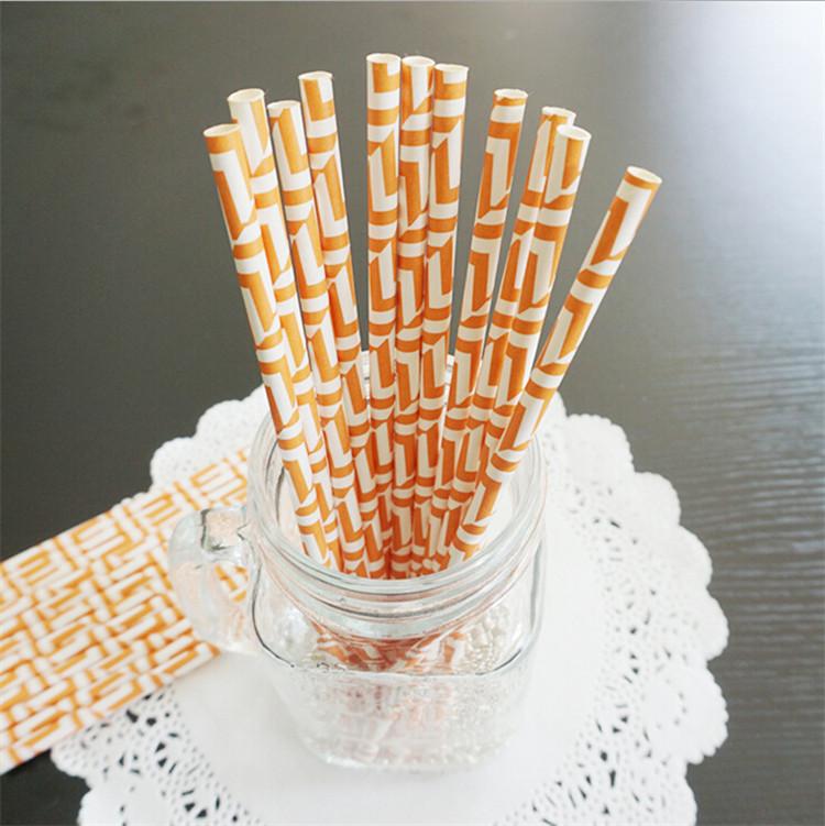 Thanksgiving Party Supplies paper straw china(China (Mainland))