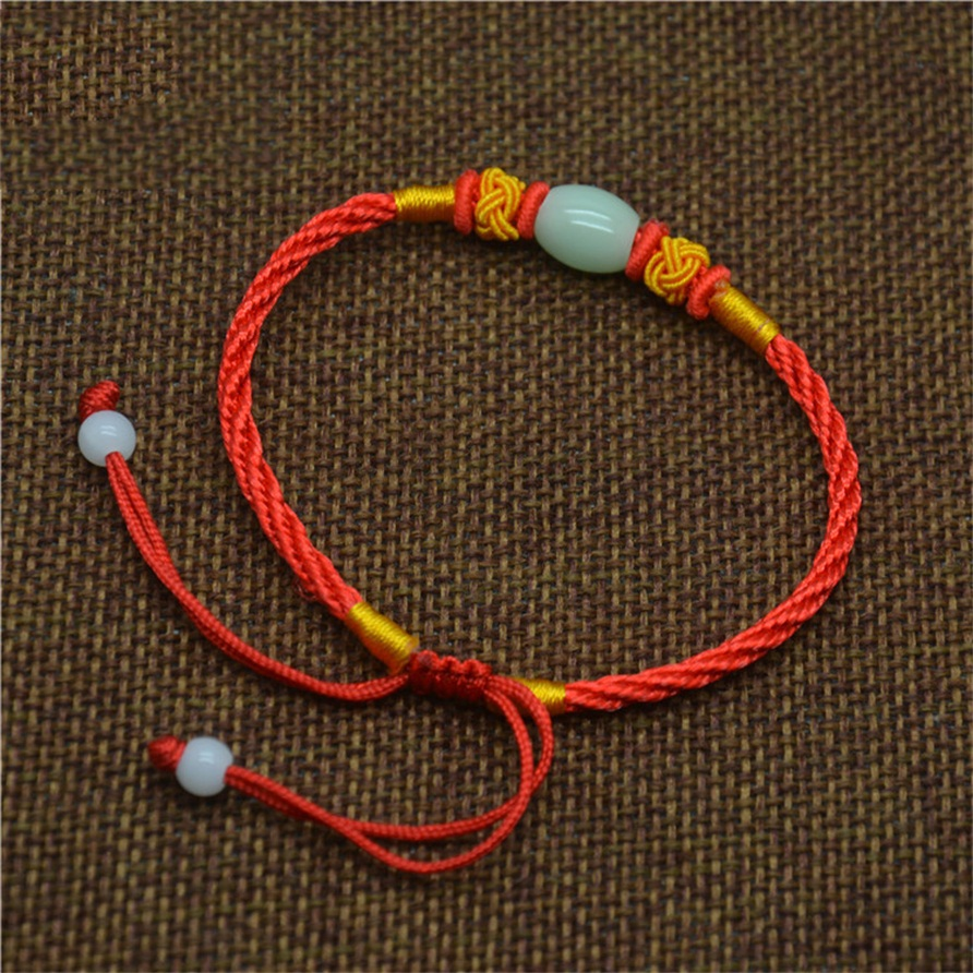 2016 Lucky Red String Chain Bracelet 2016 New Simple Bracelets For Women Classic Jewelry Wholesale Gift(China (Mainland))