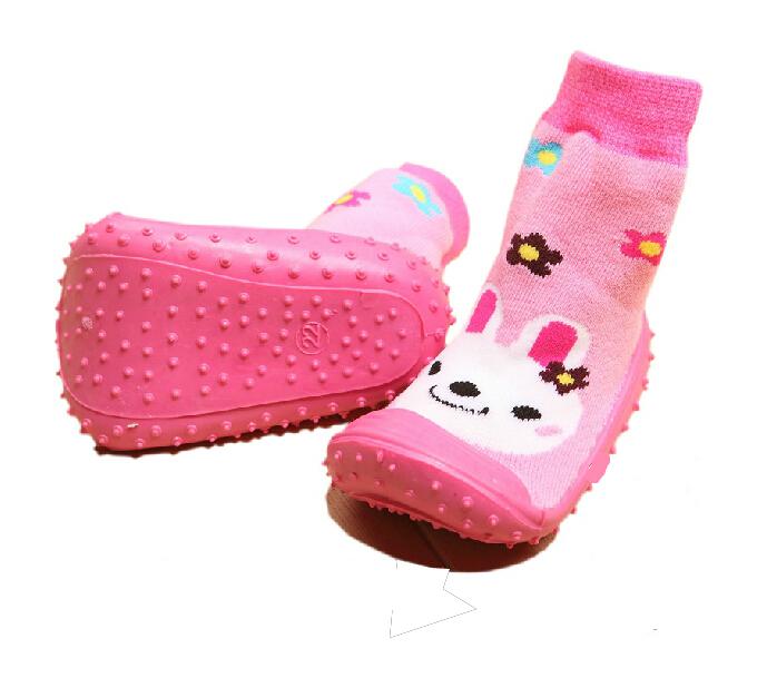 1-3years Children Socks Girl Boy Baby Girls Socks rubber soles Boy Sock Gift Kids Free Shipping(China (Mainland))