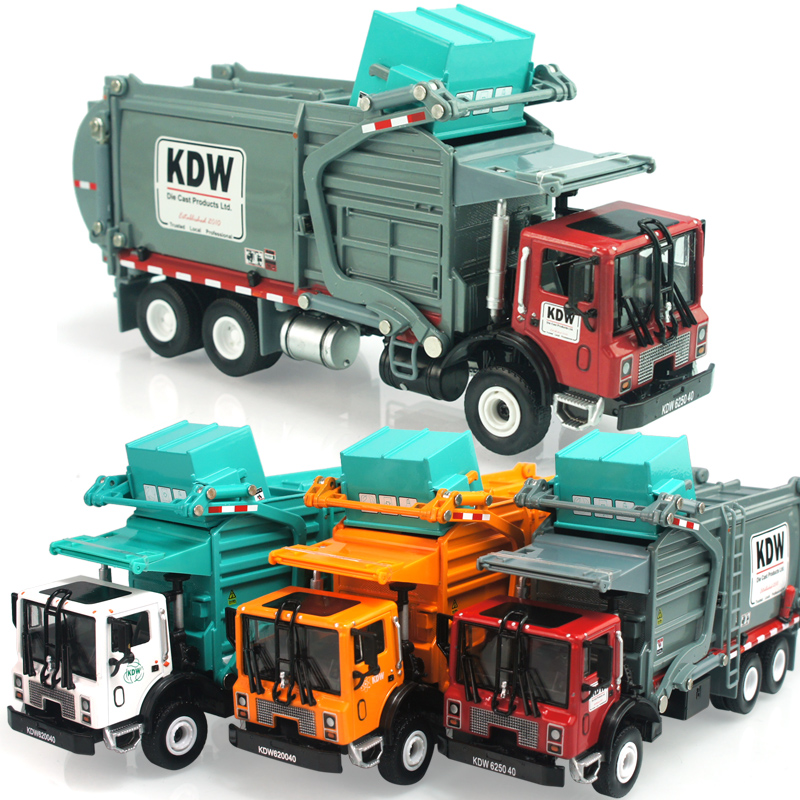 Free Shipping Alloy engineering car transport vehicle toys model car garbage model truck toys car children car educational toy(China (Mainland))