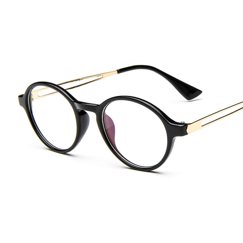 Clear Frame Glasses Retro : Fashion Men Clear Frame Glasses Women Mens Round Retro ...