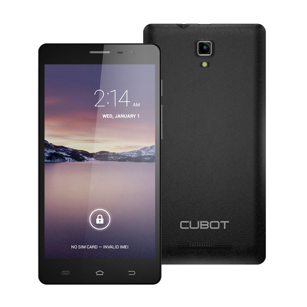 Cubot GT88 3G Smartphone Dual Core Mobile Phone 5.5'' QHD Screen 512MB RAM+4G ROM 8MP Camera Black with Screen Protector Case(China (Mainland))