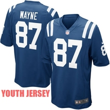 A++++++,Indianapolis Colts,Andrew Luck,Reggie Wayne,for youth,kids(China (Mainland))
