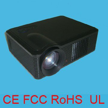 HOT SALE! 2200Lumens Led home theater lcd projector Use 100W Led Lamp more than 20,000Hrs Life(China (Mainland))