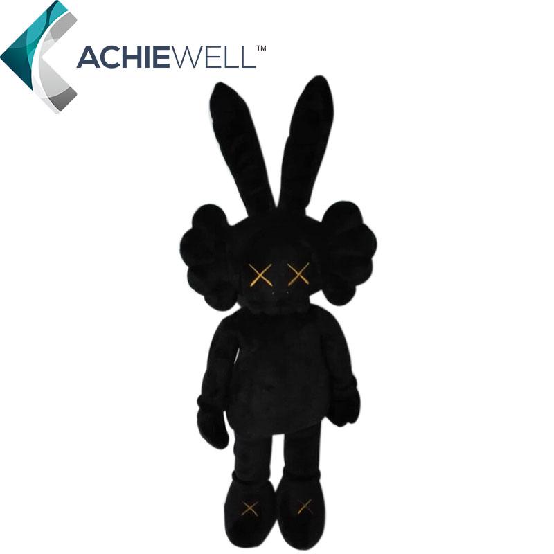 achetez en gros peluche lapin noir en ligne des grossistes peluche lapin noir chinois. Black Bedroom Furniture Sets. Home Design Ideas