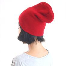 Beauty Women Unisex Warm Knit Hats Women Men Plain Winter Beanie Hats Winter Cap Slouchy Hat