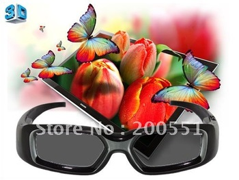 freeshipping  Bluetooth 3D glasses  fully compatible  for SONY  3D bluetooth TV