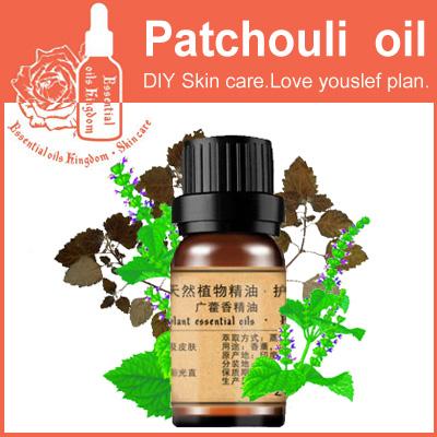 Essential oils kingdom, 100% pure plant natural patchouli oil 10ml, removedor de cravo e acne anti aging cream improve(China (Mainland))
