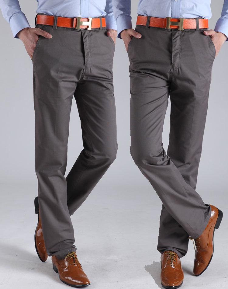 Мужчины fit брюки хлопок сталкивателем брюки свободного покроя мужчины в брюки