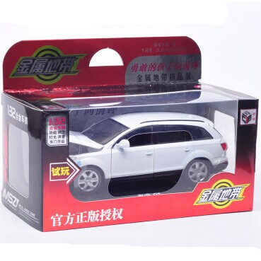 6 colors hot kids car toys of collection cars vehicle alloy metal diecast scale cars models classic die cast 1:32 car toy light(China (Mainland))
