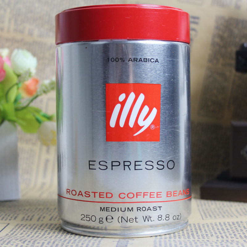 Free shipping illy coffee beans Medium Roast illy espresso beans 100 Arabica