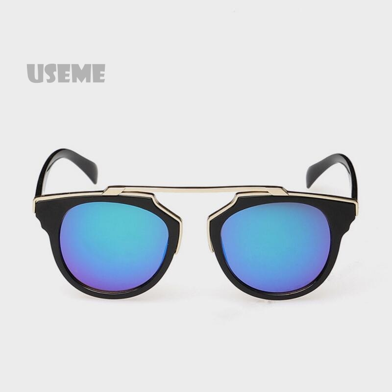 2015 Brand New Fashion Cat Eye Sunglasses Unisex UV 400 Protection Big Round Polarized Sunglasses Oculos De Sol For Men Women(China (Mainland))
