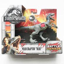 Original 37 cm Jurassic World 2 Grande Competidor Modelo Figura de Ação Tiranossauro Dinossauro Brinquedos para Crianças Dragão Oyuncak(China)