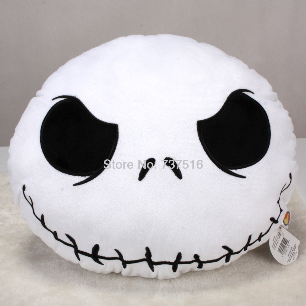 New Arrival Hot Sell The Nightmare Before Christmas Jack plush Pillow Stuffed Cushion Soft (China (Mainland))