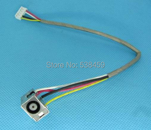 New Free Shipping DC Power Jack Socket Connector Cable For HP Pavilion DV7 DV7-1000 Power Interface(China (Mainland))