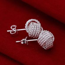 Lose Money Promotions Wholesale 925 silver earing 925 silver fashion jewelry Fashion Tennis earting For Women