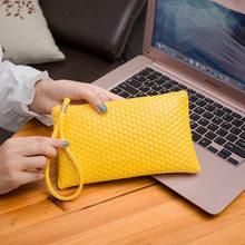 Cartera de mujer de moda bolso de mano para mujer Mini bolso de teléfono móvil 2019 nuevo monedero pequeño para mujer(China)