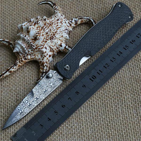 Damascus steel tactical pocket knives