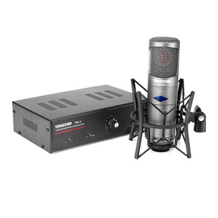 Top Quality Takstar cm-450-l vacuum tube professional condenser microphone broadcasting recording studio microphone Aluminum Box(China (Mainland))