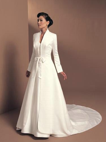 Tempting 2014 long sleeve floor length wedding bridal for White bolero for wedding dress