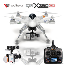 New Arrival Walkera QR X350 Pro 6CH GPS Drone with Camera Brushless Motor DEVO F7 Transmitter RC Helicopter Quadcopter For Gopro